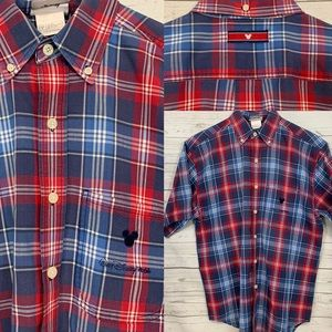 Walt Disney World Button Down Shirt Mickey Mouse S